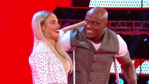 Bobby Lashley and Lana feigned an injury during the show
