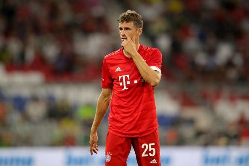 Muller picked up 2 assists in the game