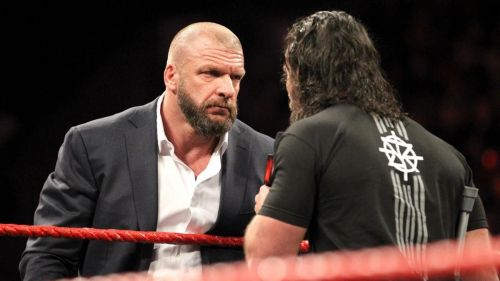 Triple H and Seth Rollins