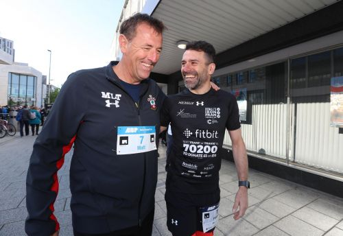 Franny Benali and Matt Le Tissier (Credits: Southampton FC)