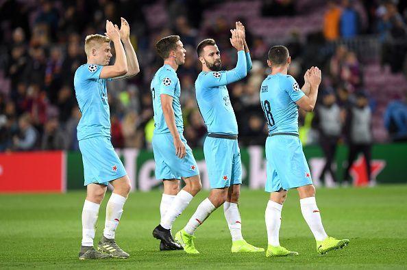 Slavia were brilliant to claim the draw