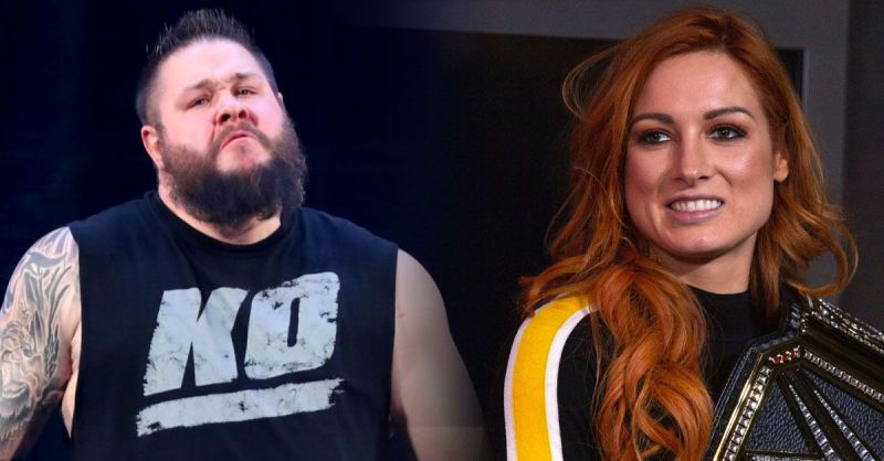 Kevin Owens and Becky Lynch
