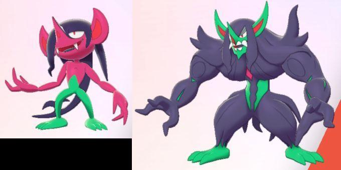 Image result for Impidimp/Morgrem/Grimmsnarl pokemon sword