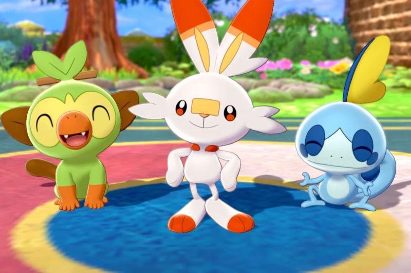 Image result for pokemon sword and shield starter evolution leaks
