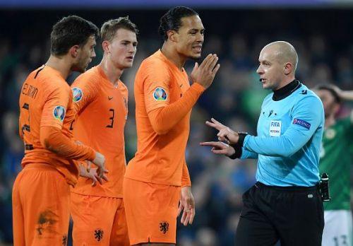 Northern Ireland v the Netherlands - UEFA Euro 2020 Qualifier