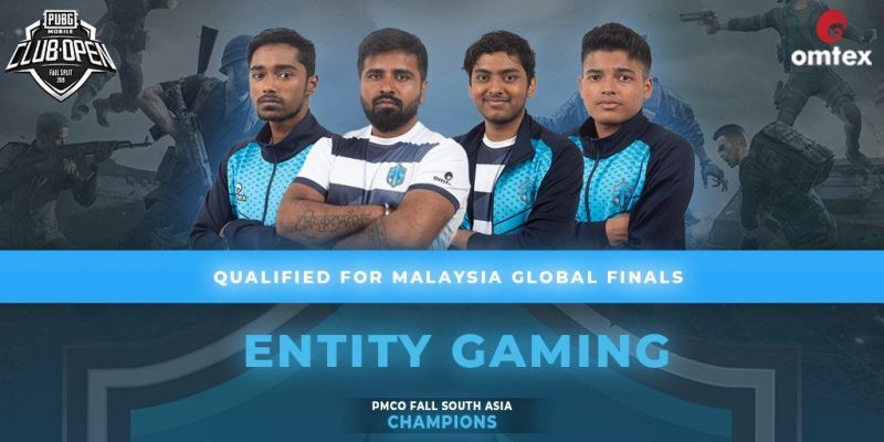 Entity Gaming won the PMCO Fall Split Regional Finals for South Asian region