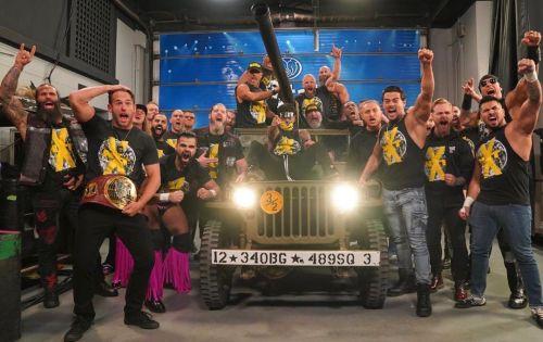 NXT ने किया अटैक