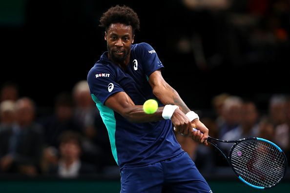 Gael Monfils from Team France