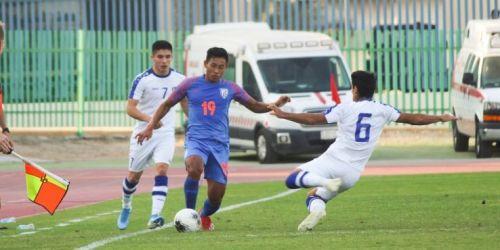 India U19's lost against Uzbekistan