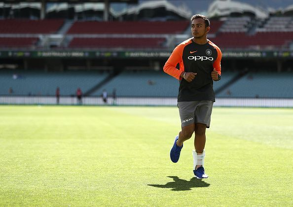 Prithvi Shaw has been named in Mumbai