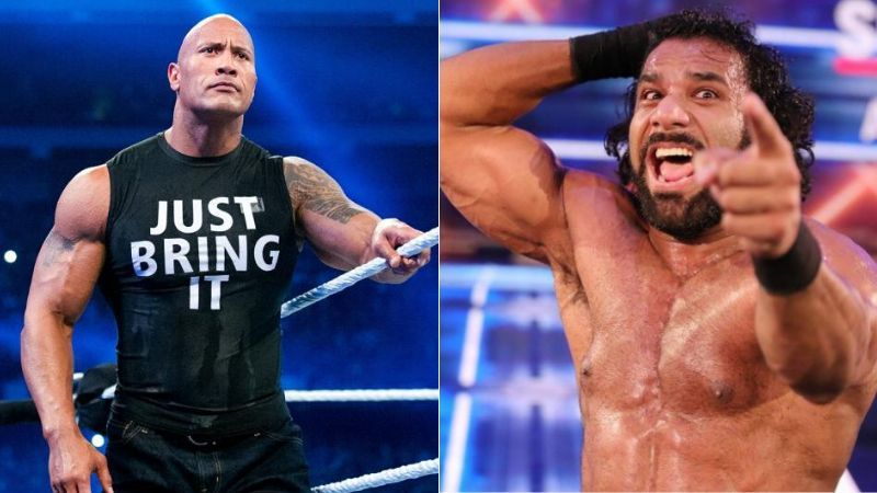 The Rock and Jinder Mahal were involved in this week