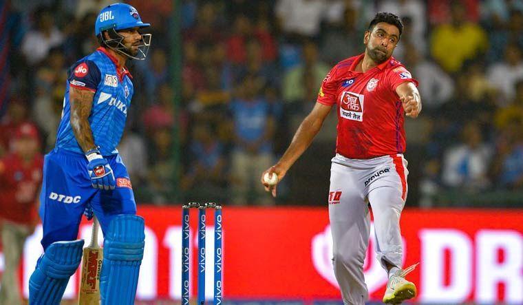 आईपीएल मैच के दौरान अश्विन