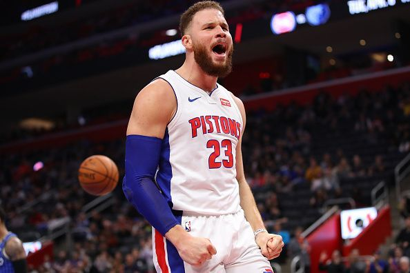 Blake Griffin could make his first appearance of the season this week