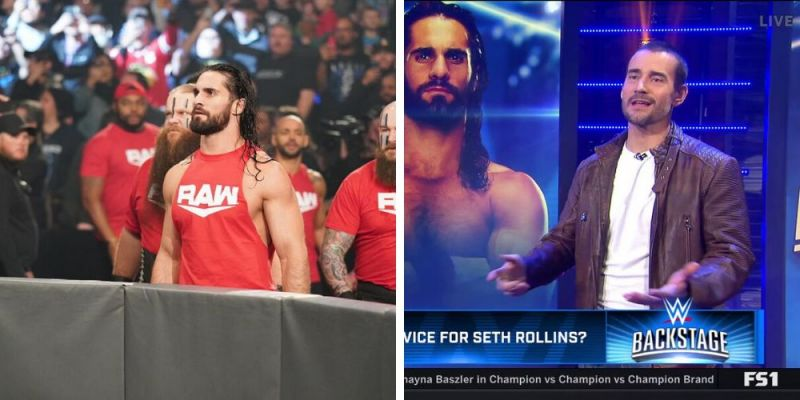 Seth Rollins has been picking a fight with CM Punk