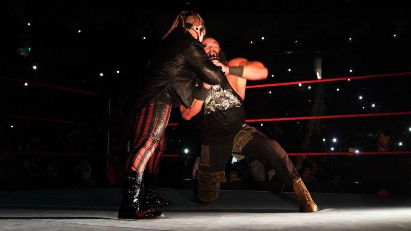 The Fiend and Braun Strowman