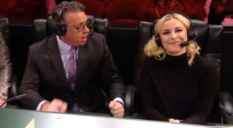 Renee Young was clean kicked in the face on SmackDown