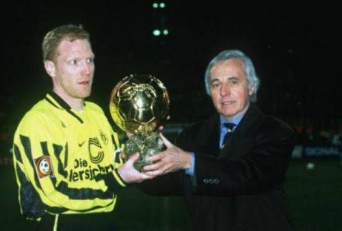 Sammer won the Ballon d'Or with Borussia Dortmund