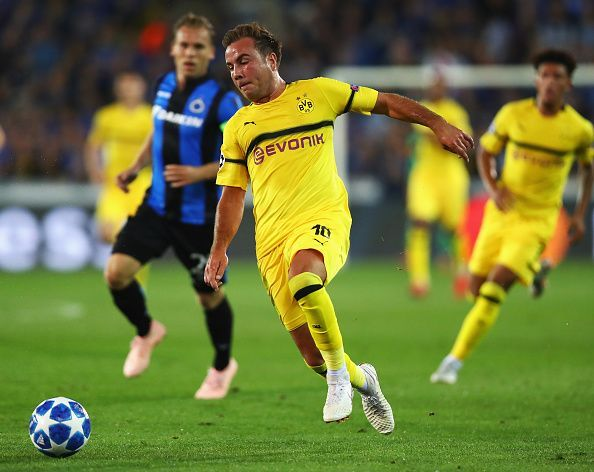 In his two spells at Dortmund, Gotze has been a very different player