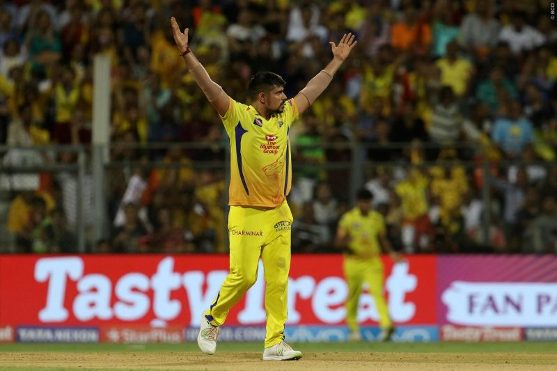 Karn Sharma picked a solitary wicket in IPL 2019