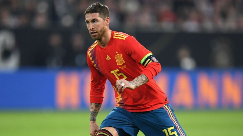 Sergio Ramos is set to lead La Roja once again