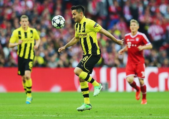 Gundogan made it to the Champions League final in his first season with Borussia Dortmund