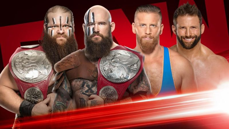 The Viking Raiders will defend their Titles against Hawkins and Ryder
