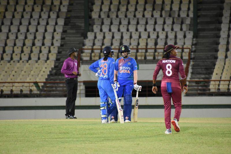 भारतीय महिला टीम का जबरदस्त प्रदर्शन जारी