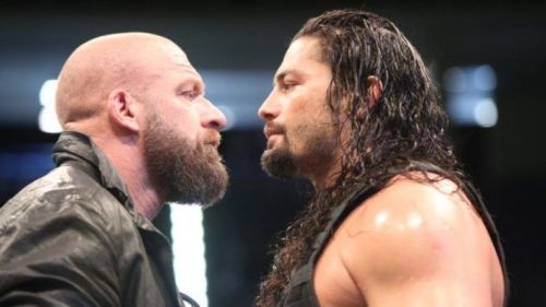 Triple H will come up against Roman Reigns if the creative team gets their way