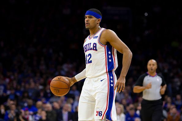 Tobias Harris has yet to hit top form with the Sixers