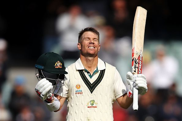 David Warner recorded his best-ever score in Tests against Pakistan.