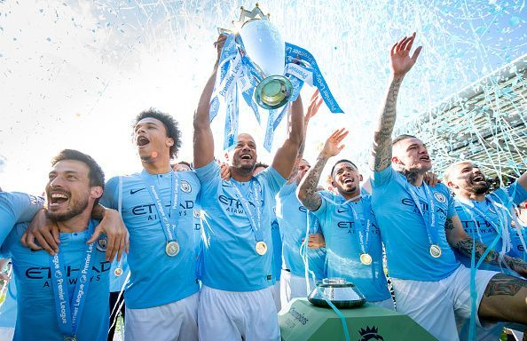 Manchester City dramatically won the title last season