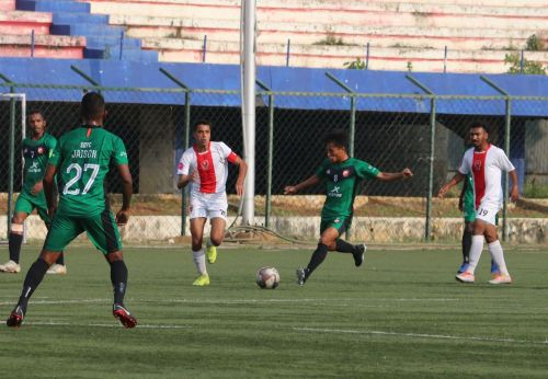 Rungsing got on the scoreboard against Bangalore Dream United
