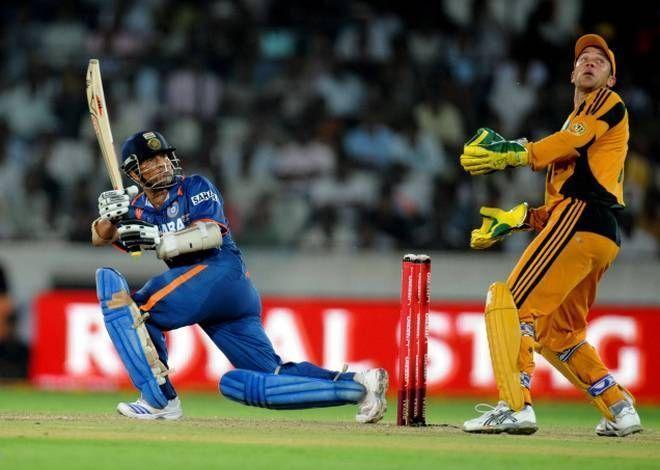 Tendulkar has scored 14 hundreds in a losing cause in ODI