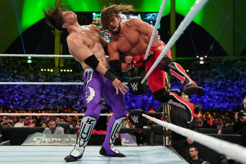 Styles bested Carrillo at Crown Jewel last month.