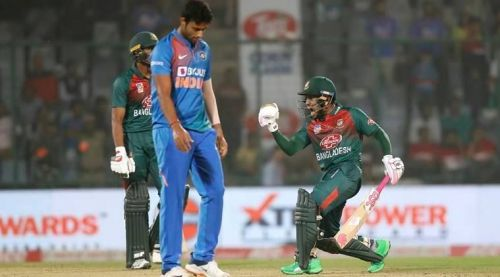 Bangladesh won the first T20I by 7 wickets