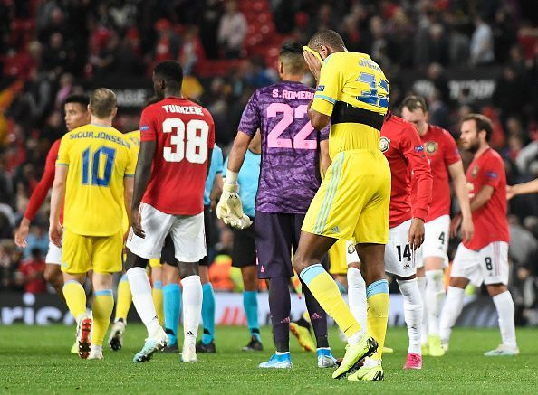 Astana have a chance to win due to the inexperience of this Manchester United squad