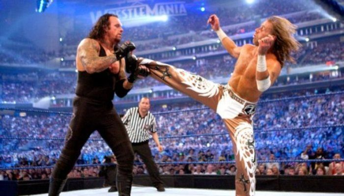 Michaels and Taker defined Wrestle Mania for a generation