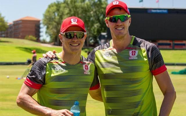 Morne Morkel (right) will be a key bowler for the Tshwane Spartans