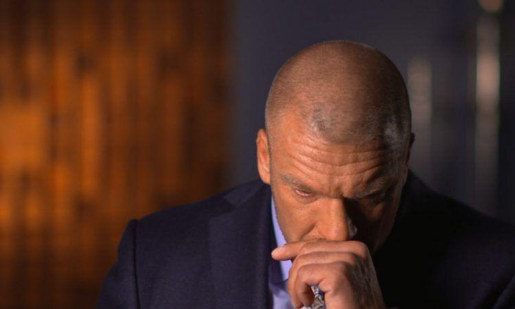 Sad Triple H is sad.