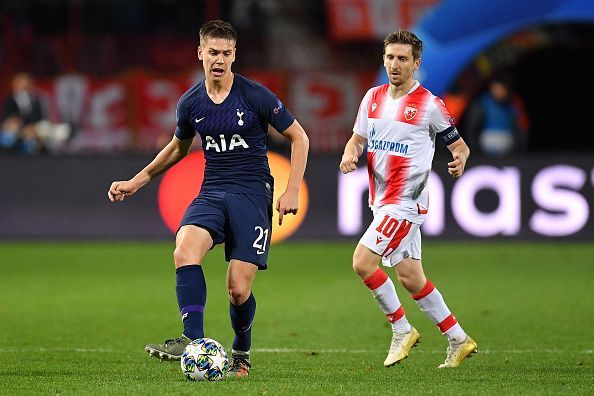 Foyth will be eager to impress Mourinho and assert his starting credentials in defence