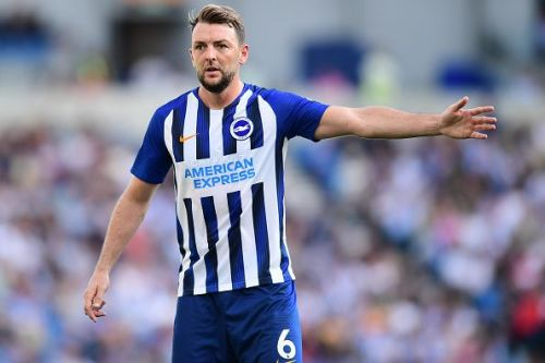 Brighton's players, like midfielder Dale Stephens, make great use of a passing style