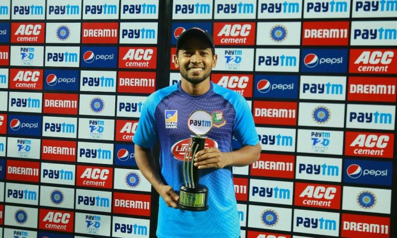 Mushfiqur Rahim was justifiably awarded the Man of the Match.