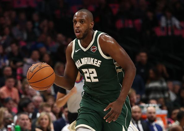 Khris Middleton is unlikely to play again this month