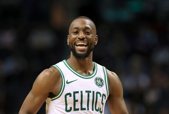 Kemba Walker and the Boston Celtics will face the struggling Golden State Warriors