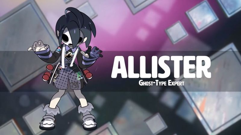 Allister, the Ghost-type leader
