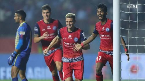 Castel, Piti and Farukh have been central to Jamshedpur's winning start to the season (Image courtesy: ISL)