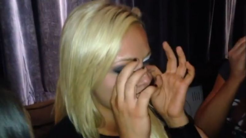 Liv Morgan in tears after her first outing in NXT