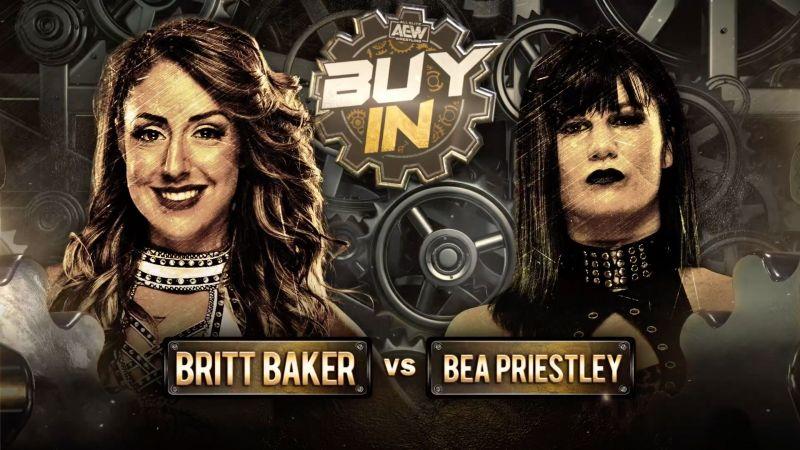 Dr. Britt Baker MD vs Bea Priestley
