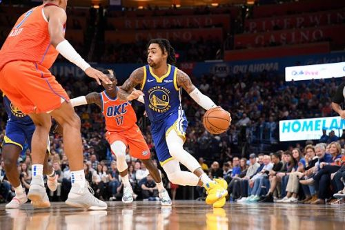 D'Angelo Russell is expected to lead the lines for the Warriors against OKC