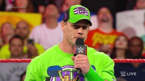 जॉन सीना लंबे समय से WWE टेलीविजन से दूर है